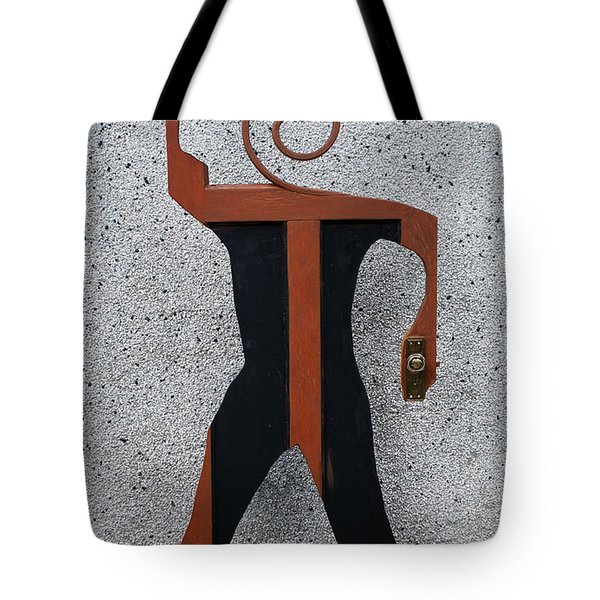 Door Man Tote Bag