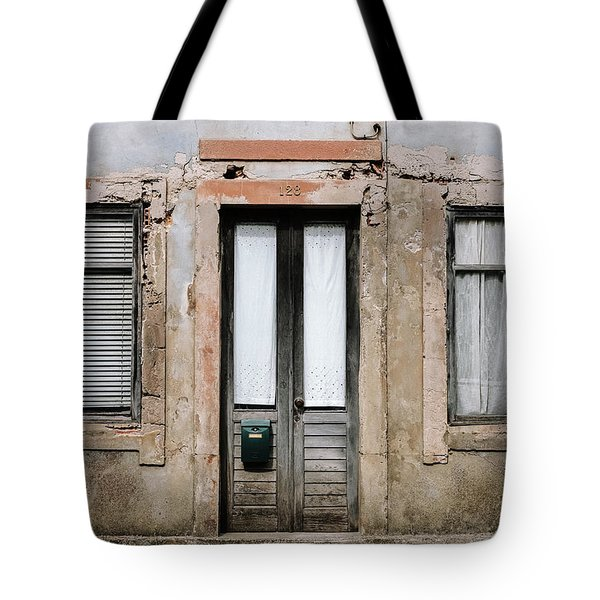 Tote Bag featuring the photograph Door No 128 by Marco Oliveira