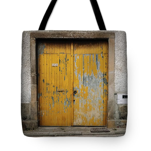 Tote Bag featuring the photograph Door No 152 by Marco Oliveira
