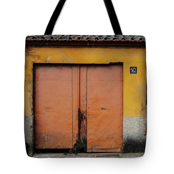 Tote Bag featuring the photograph Door No 162 by Marco Oliveira