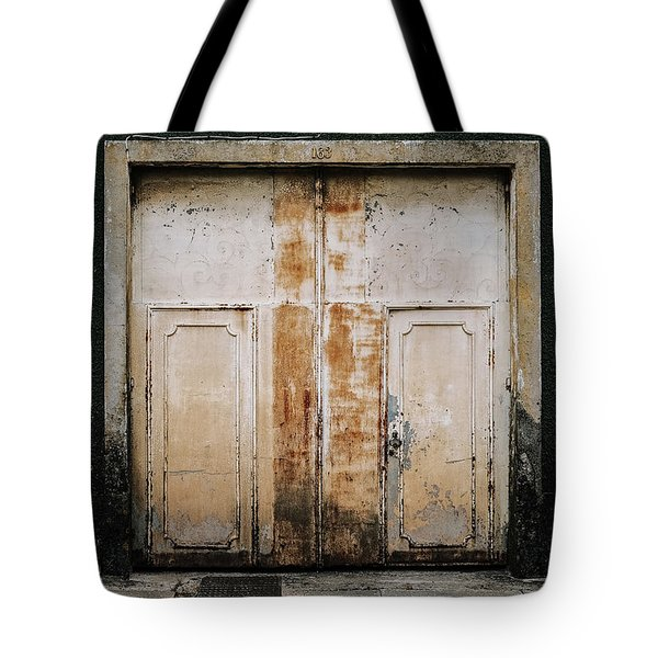 Tote Bag featuring the photograph Door No 163 by Marco Oliveira