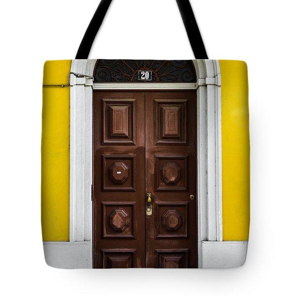 Door No 20 Tote Bag by Marco Oliveira