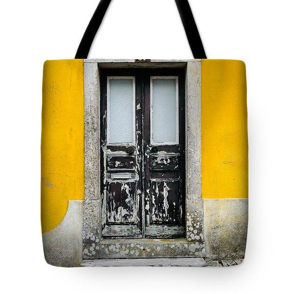 Door No 37 Tote Bag by Marco Oliveira