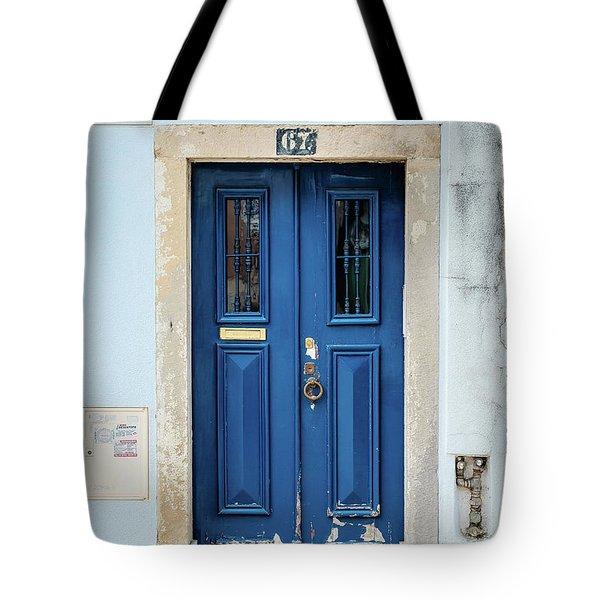 Door No 67 Tote Bag by Marco Oliveira
