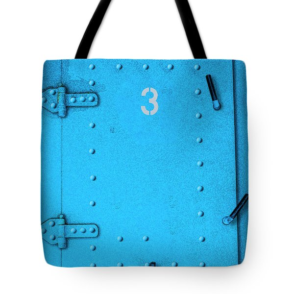 Tote Bag featuring the photograph Door Number 3 by Paul Wear
