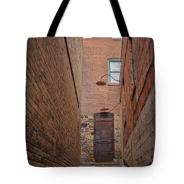 Tote Bag featuring the photograph Door To 9a by Dan McManus