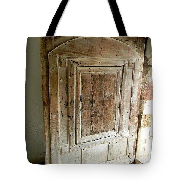 Door To Feudal Times Tote Bag