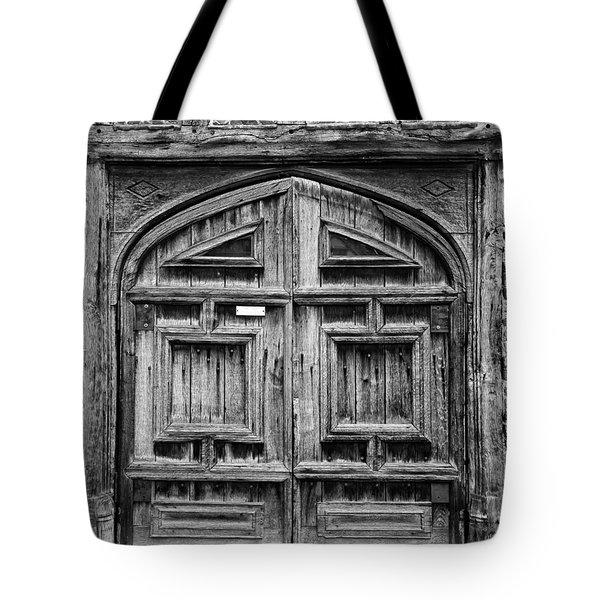 Door To Henry Viii Hunting Lodge Tote Bag