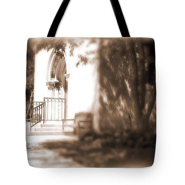 Door To Yesterday Tote Bag by Lauren Radke