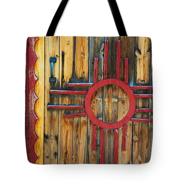Door With Zia Tote Bag