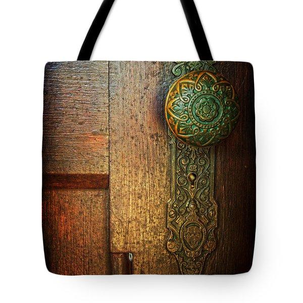 Doorknob Tote Bag