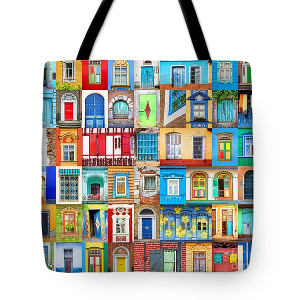 Doors And Windows Of The World Tote Bag