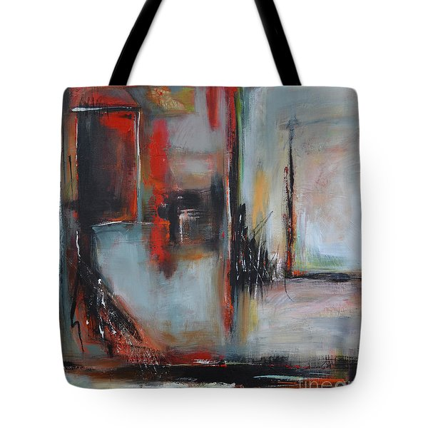 Tote Bag featuring the painting Doors by Cher Devereaux