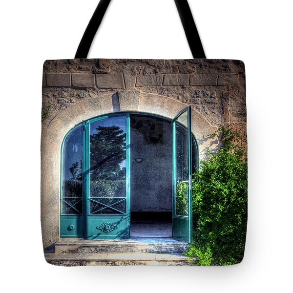 Tote Bag featuring the photograph Doors In Provence by Tom Prendergast