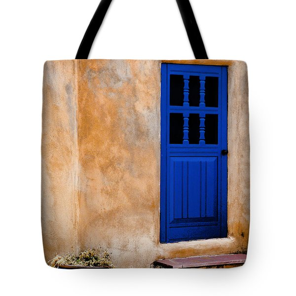 Doors Of Taos Tote Bag