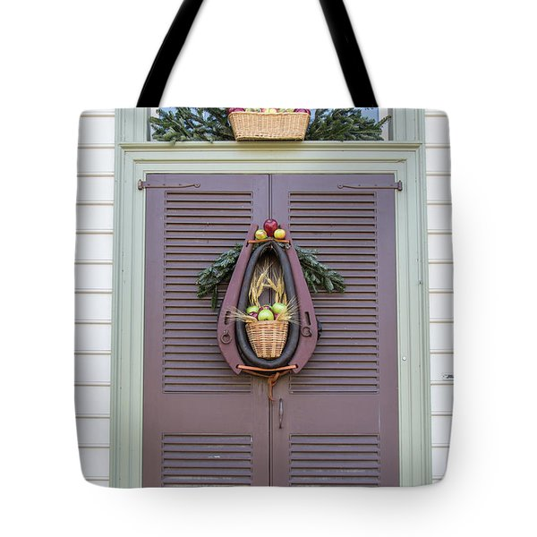 Doors Of Williamsburg 91 Tote Bag