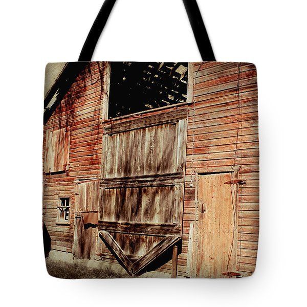 Doors Open Tote Bag by Julie Hamilton