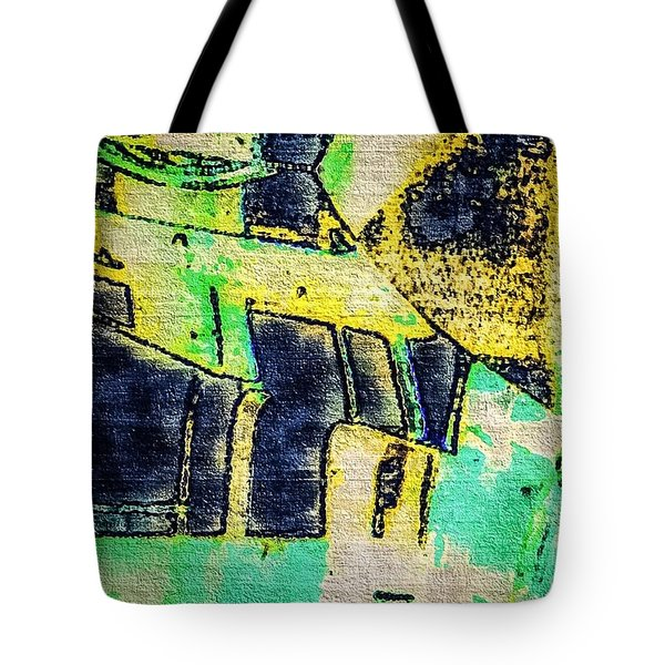 Doors Tote Bag by William Wyckoff