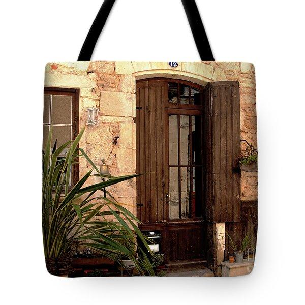 Doorway At Number 12 Tote Bag