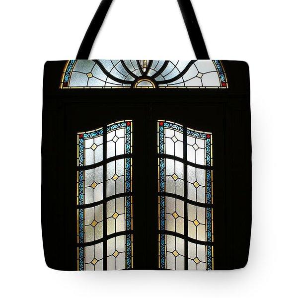 Doorway Tote Bag by Sandy Keeton