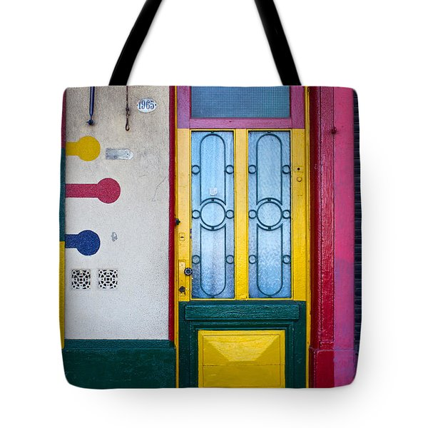 Doors Of San Telmo, Argentina Tote Bag