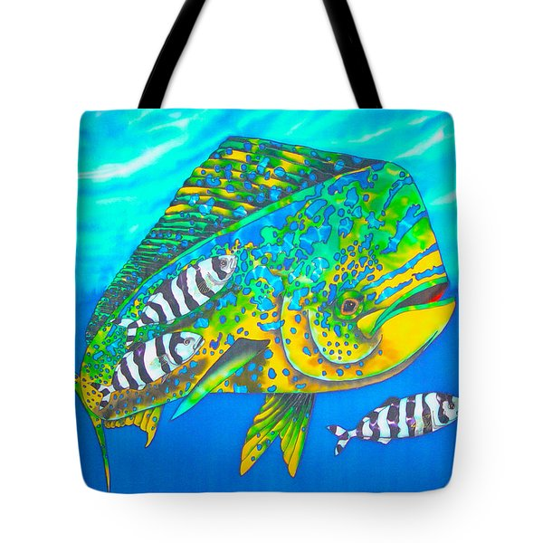 Dorado And Pilot Fish - Mahi Mahi Fish Tote Bag