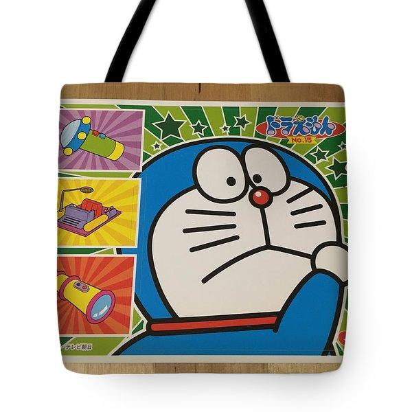 Doraemon Gadget Cat From The Future Tote Bag