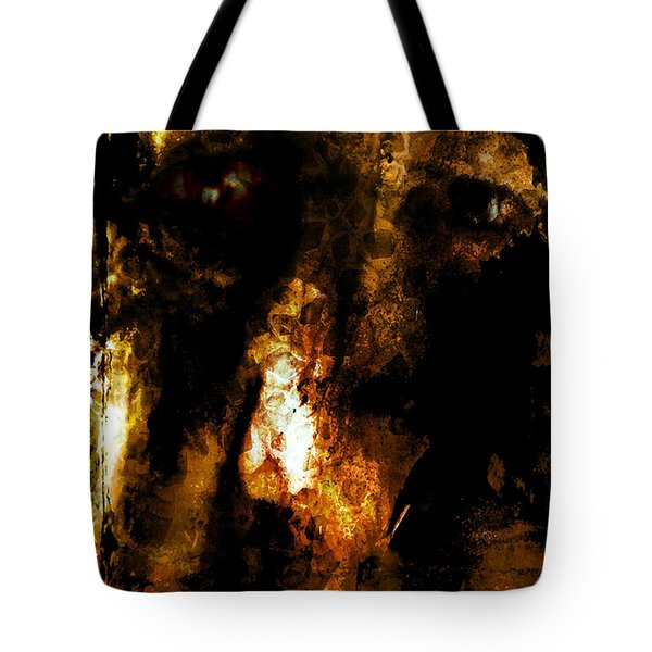 Tote Bag featuring the photograph Dorian Gray by Ken Walker