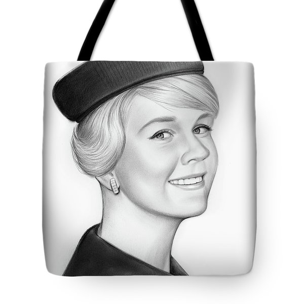 Doris Day Tote Bag