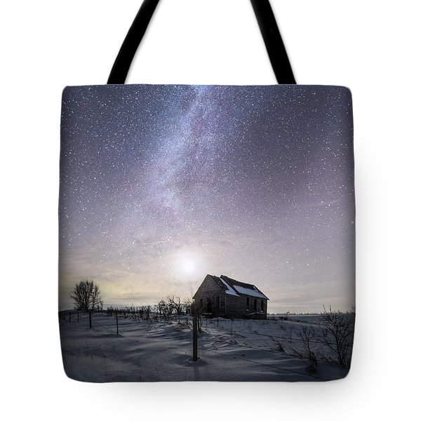 Tote Bag featuring the photograph Dormant by Aaron J Groen