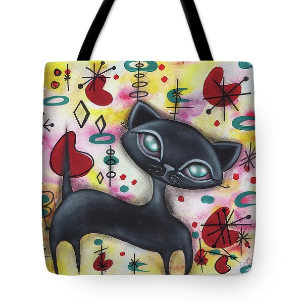 Dorothy Cat Tote Bag by Abril Andrade Griffith