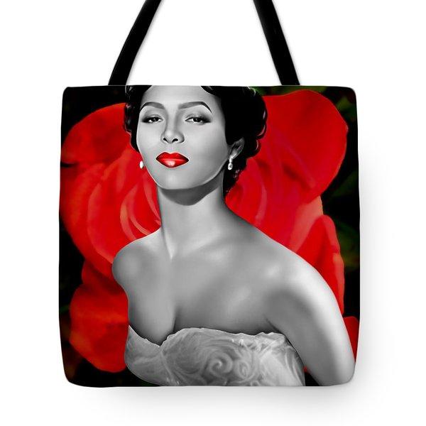 Dorothy Dandridge Tote Bag by Davonte Bailey
