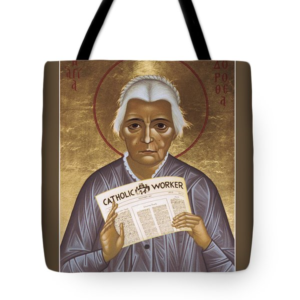 Dorothy Day Of New York - Rldrd Tote Bag