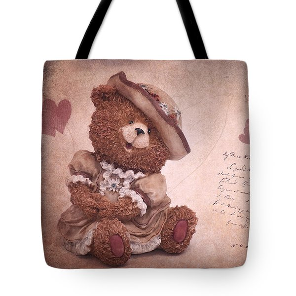 Dorothy In Love Tote Bag by Angela Doelling AD DESIGN Photo and PhotoArt