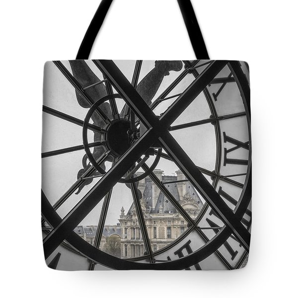 D'orsay Clock Paris Tote Bag