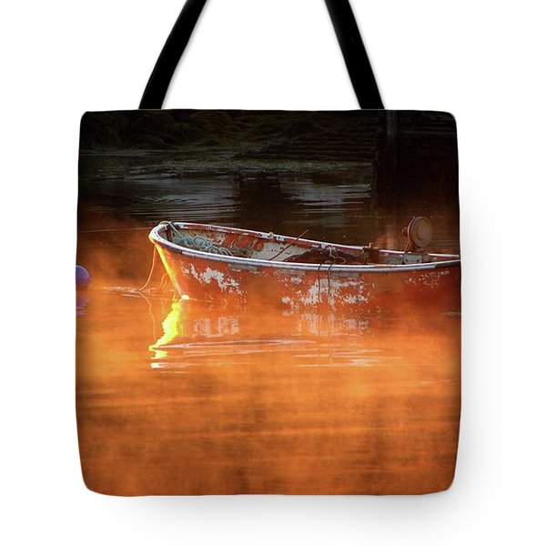 Dory In Orange Mist Tote Bag