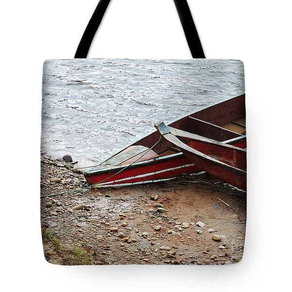 Dos Barcos Tote Bag by Kathy McClure