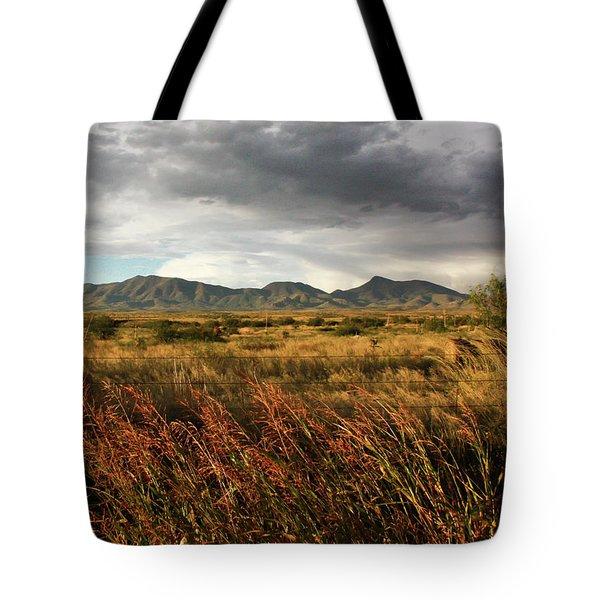 Dos Cabezas Grasslands Tote Bag