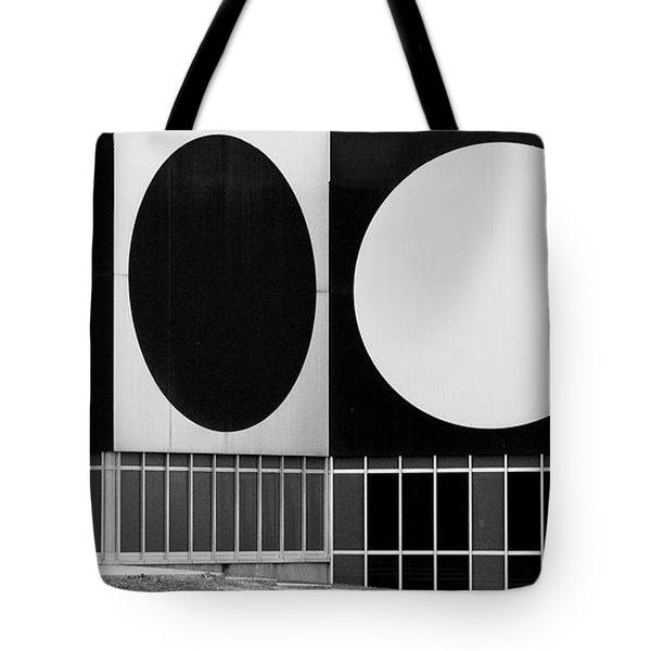 Dot Building Tote Bag