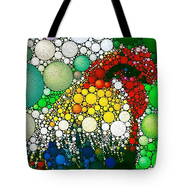 Dotty Doodle Doo Tote Bag