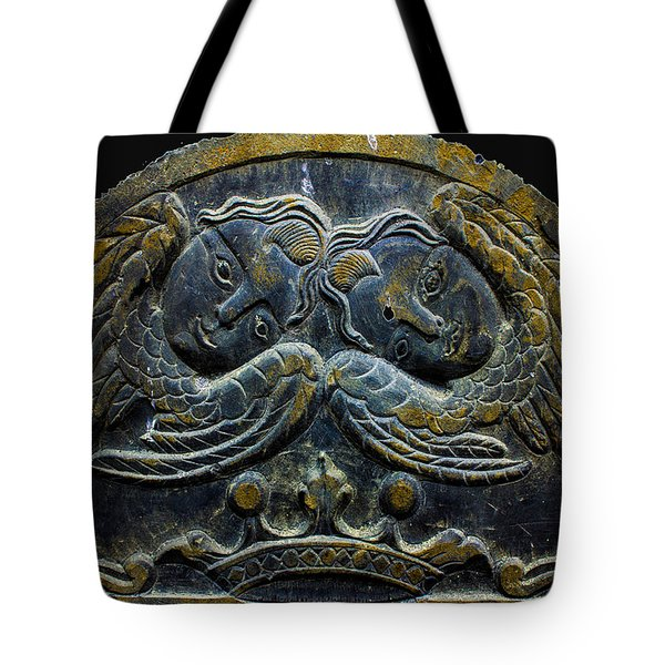 Double Angel Memorial Tote Bag