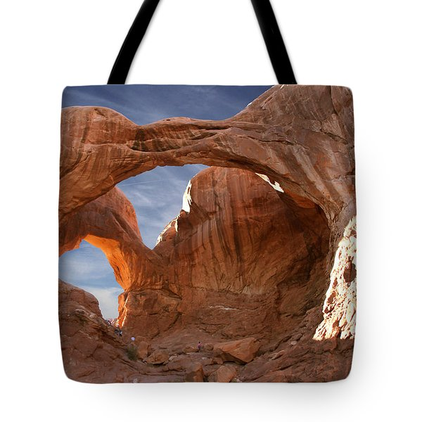 Double Arch In Late Afternoon Tote Bag