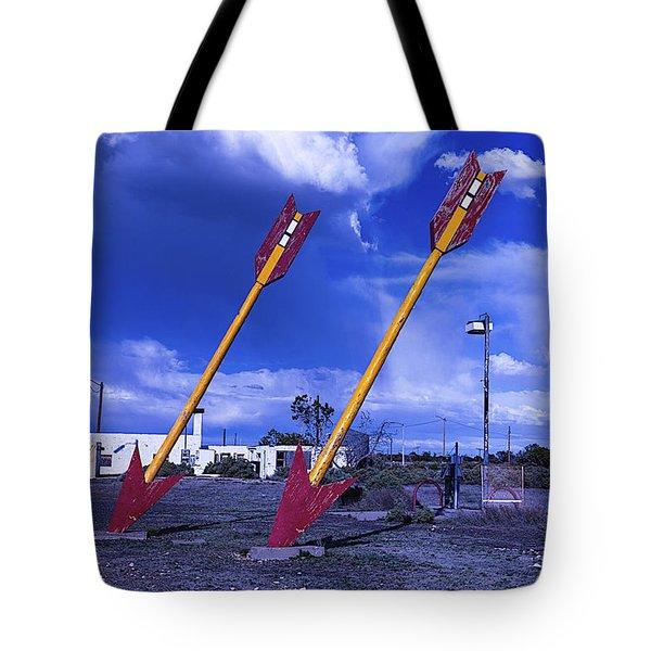 Double Arrows Tote Bag