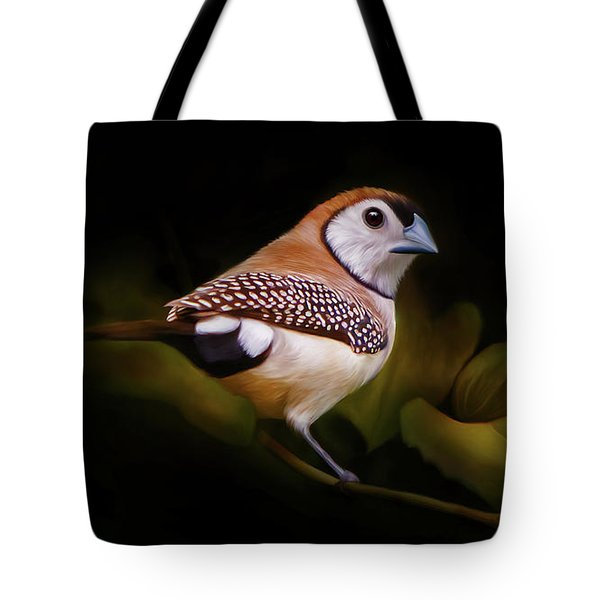 Double Barred Finch Artwork 8948 Tote Bag