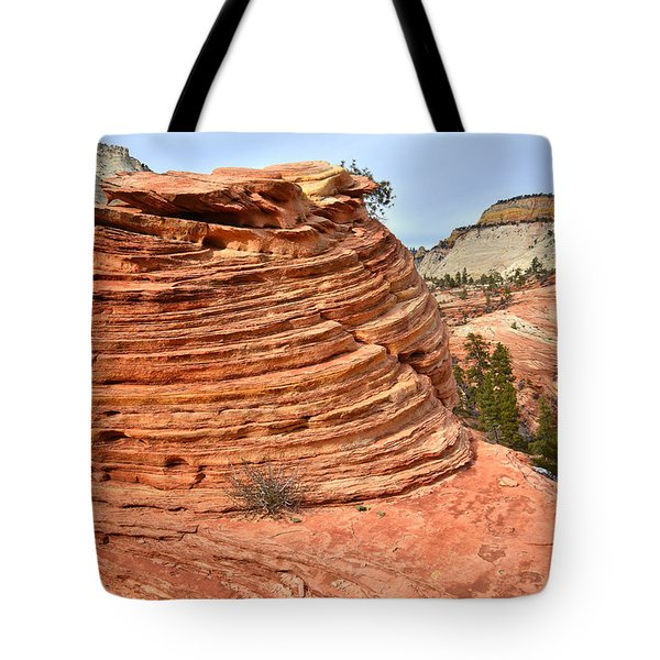 Double Beehive Tote Bag
