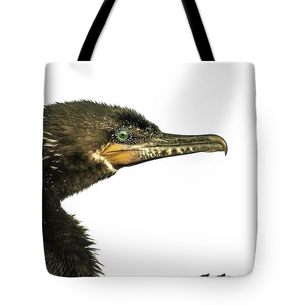Tote Bag featuring the photograph Double-crested Cormorant  by Robert Frederick