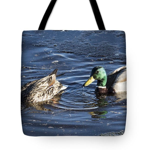 Double Dabblers Tote Bag