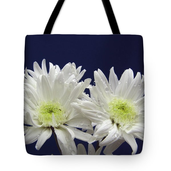 Double Dahlia Tote Bag