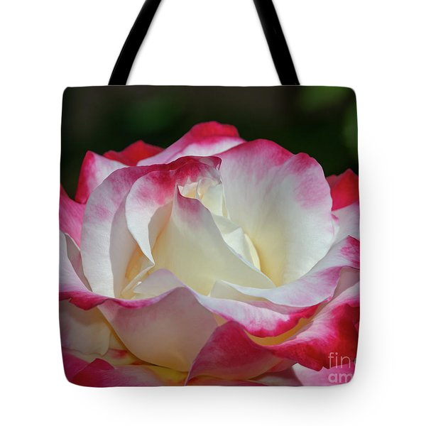 Double Delight Rose 1 Tote Bag