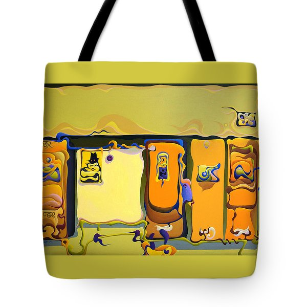 Double Door Power Play Tote Bag